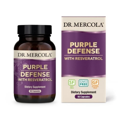 Purple Defense with Resveratrol
