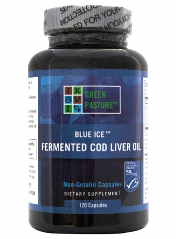 Green Pasture - Fermented Cod Liver Oil - 120 capsules