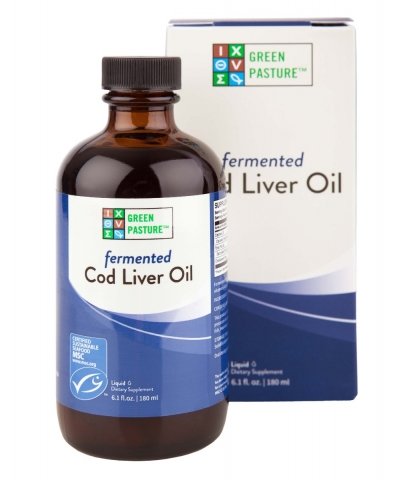 Liquid Fermented Cod Liver Oil - Unflavored