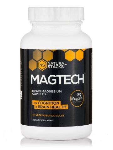 Natural Stacks - Magnesium Complex - MagTech™ - 90 vegetarian capsules