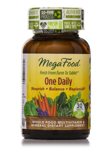 MegaFood - One Daily Multivitamins - 30 tablets