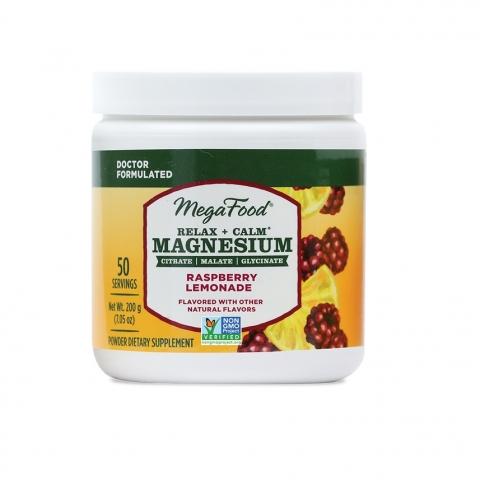 Relax + Calm* Magnesium Powder - Raspberry Lemonade Flavor