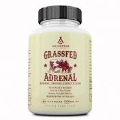 Ancestral Supplements - Grassfed Adrenal with liver - 180 capsules