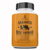 Ancestral Supplements - Grass-fed Bovine Thyroid - 180 capsules