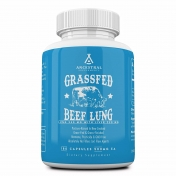 Ancestral Supplements - Grass fed Bovine Lung - 180 capsules