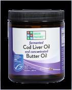 Green Pasture - Fermented Cod Liver Oil / Butter Oil Blend - Gel - Cinnamon - 240 ml