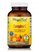 MegaFood - Complex C - Natural Vitamin C - 30 Tablets - 30 tabletten