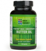 Green Pasture - X-Factor Gold - High Vitamin Butter Oil  - 120 capsules