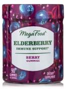 Megafood - Elderberry Immune support - 90 gummies