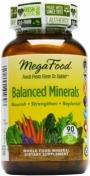 MegaFood - Balanced Minerals - 90 Tablets - 90 tabletten