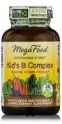 MegaFood - Kid's B Complex - Natural Vitamin B Complex - 30 tablets
