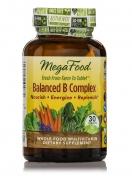 MegaFood - Balanced B Complex - 30 Vegetarian Tablets