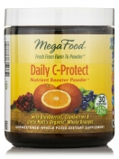 MegaFood - Daily C-Protect Nutrient Booster Powder - 2.25 oz. Natural Vitamin C Powder Formula - 64 gram