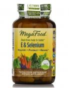 MegaFood - E & Selenium - 30 Tablets - 30 tabletten