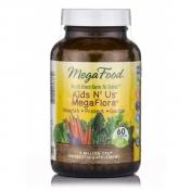 MegaFood - Probiotica - Kinderen - 5 miljard units - 60 vegetarische capsules