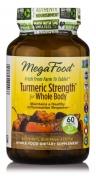 MegaFood - MegaFood - Turmeric Strength for Whole Body - Curcumin Formula - 60 Tablets - 60 tabletten