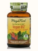 MegaFood - Vitamin B12 - Vegan - 30 tablets