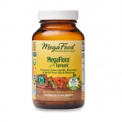 Probiotics - MegaFlora® with turmeric/curcumin - 50 billion units