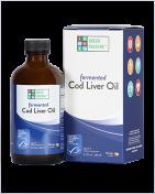 Green Pasture -  Liquid Fermented Cod Liver Oil - Oslo Orange - 180 ml