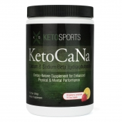KetoCaNa - Exogenous Ketones- Beta-Hydroxybutyrate - Strawberry Lemonade