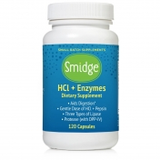 Organic3 - GUTZyme HCL (GUTzyme RESTORE) - 120 vegetable capsules
