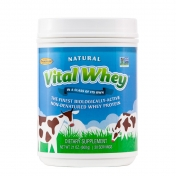 Well Wisdom - Vital Whey Naturel - Grass-Fed Whey Protein  - 600 grams