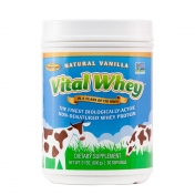 Well Wisdom - Vital Whey Vanilla - Grass-Fed Whey Protein  - 600 grams