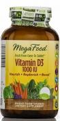 MegaFood - Vegetarian Vitamine D3 - 1000iu - 30 tabletten