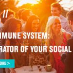 The immune system: Moderator of your social life
